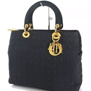Authentic CHRISTIAN DIOR Lady Dior Bag